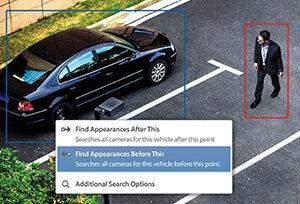 監視カメラ映像_車_人画像
